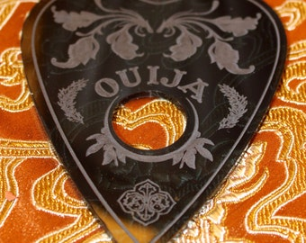 Spirit Board Ouija Planchette floral style design