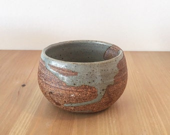 Handmade matcha tea bowl