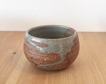 Handmade matcha tea bowl