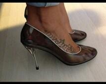 ROCHAS cinderella's shoes rare !
