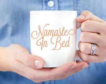 Namaste In Bed Mug