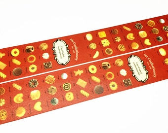 Kamoi mt ex - baked sweets washi tape (T00528)