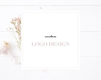 Custom Logo Design - Custom Blog Header Design - Custom Squarespace Blogger Wordpress Header Logo Design