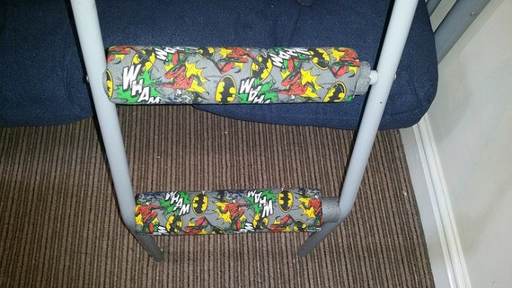 Batman Padded Bunk Bed Ladder Rung Covers By Parentparadise