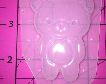 Kawaii bear -Flexible Plastic Resin Mold