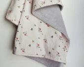 FLASH SALE Cuddle/Minky Stroller Blanket - Millie Fleur