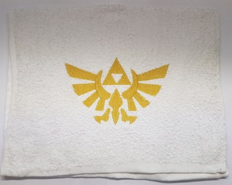 The Legend of Zelda embroidered  terry cloth towel