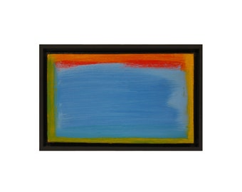 Fine art - abstract expressionist modern oil painting