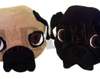 Pug Scatter Cushion
