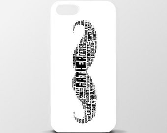 Personalised iPhone 6/6s/6 plus case - Moustache - Father's Day Gift
