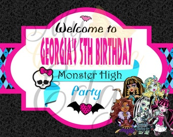 Monster High - Welcome Sign