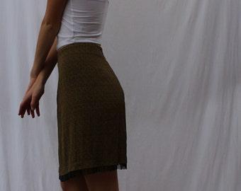 Yin Yang High Waisted Skirt