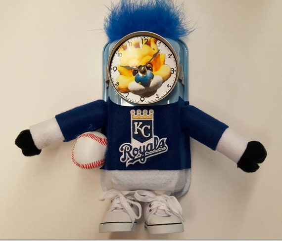 Kansas City Royals Baseball Clock
