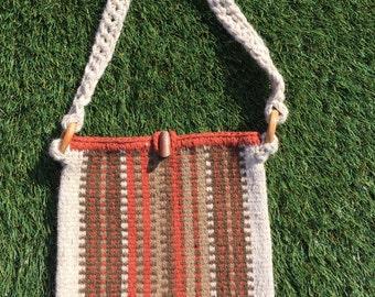 Irish Handwoven Wool Tote