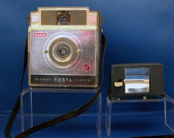 Vintage 1960's Kodak Brownie Fiesta Camera 127 Size Film