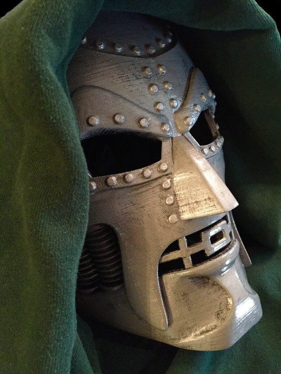 Dr. Doom Mask Replica / Cosplay / Costume / 3-D Printed by ...