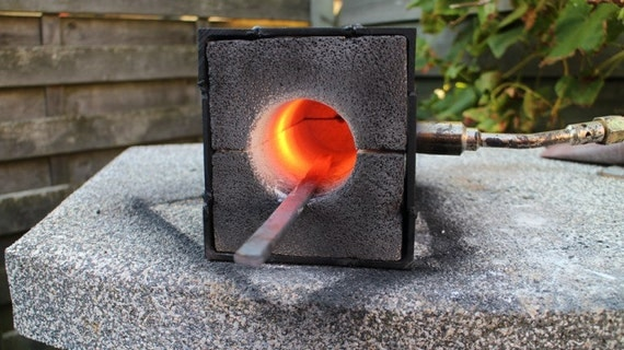 Blacksmithing Forge Melting Furnace For Small Projects