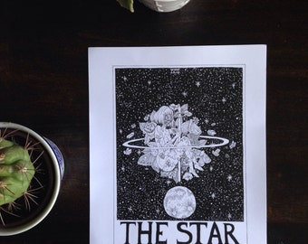 """Art Print """"The Star"""" by Lilchive"""