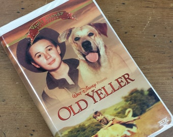 Old Yeller Vault Disney VHS Cassette Tape ~ Walt Disney Movie