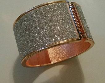 Rose gold bracelet and Silver