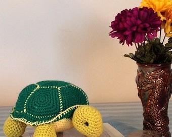 Orion the Turtle, Amigurumi Turtle, Plush Toy