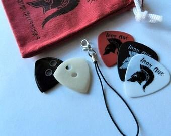 Bone & Horn Guitar Picks - Jazz3 Style