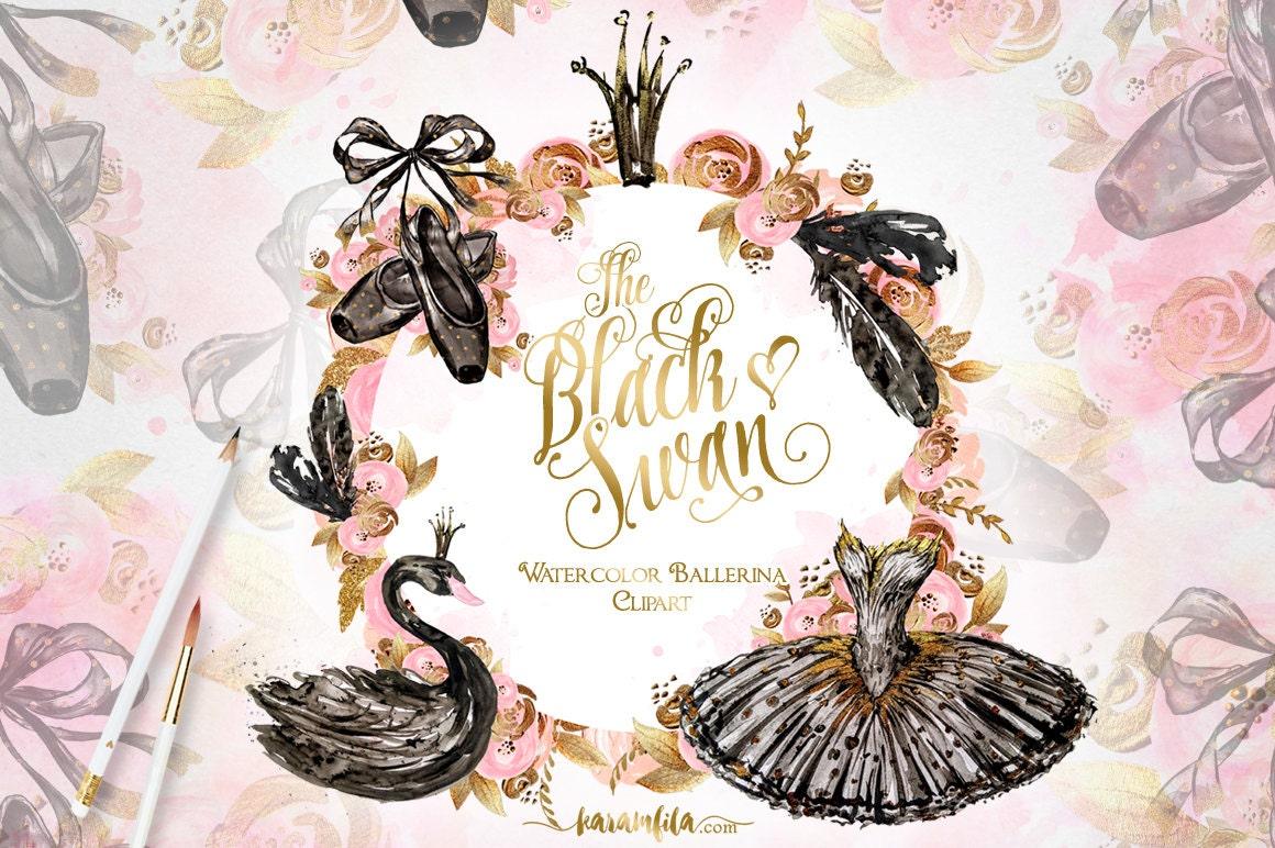 Swan Lake Clipart Ballerina Clipa...