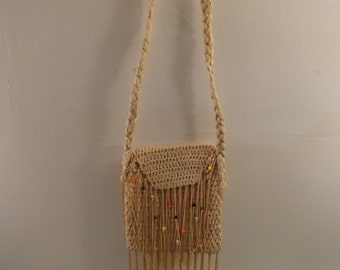 Unique Purse From Spain Made Out Of Recycled Plastic Bags