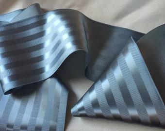 1+ Yard Wide Ribbon, Vintage Striped Ribbon, Vintage Rayon Ribbon, Antique Ribbon, Vintage Satin Ribbon, Vintage Faille Ribbon