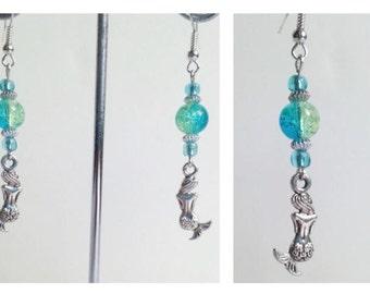 Mermaid Earrings. Cute Gift