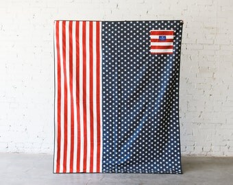 Stars & Stripes | Large Waterproof Picnic Blanket or Play Mat