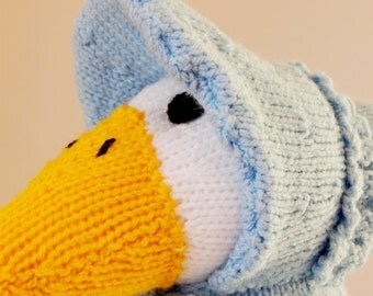 Knitting Pattern For Jemima Puddle Duck : Jemima puddle duck Etsy