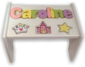 Princess Puzzle Stool (Up to 8 letters)