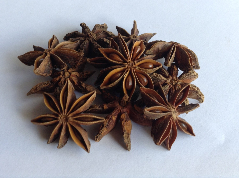 1 oz Whole Organic Star Anise Pods With Free by EZOrganics