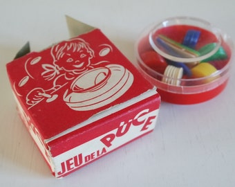 Vintage 60s Tiddlywinks in its box