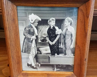 """1950's """"I love Lucy"""" authentic glossy photograph"""