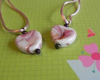 Heart Friendship Necklaces