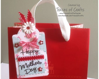 Mothers Day Card, Mothers Day Tag, Happy Mothers Days