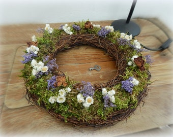 Wreath, floral in the MOSS