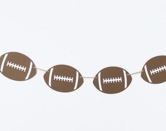 Football Garland | Football Banner | Football Decor | Football Decoration | Football Birthday | Sports Birthday