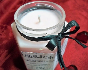 LIMITED EDITION Love Spell Candle, Jar Candles, Scented Soy Candle, Cafe Passion, Cotton Wick, Valentines Day Candle