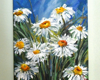 Art / original oil painting / Flowers