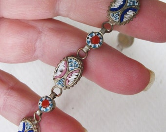 Wonderful Early Art Deco Micromosaic Bracelet