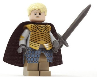 Brienne of Tarth Game of Thrones Custom Minifigure 100% Lego Compatible!