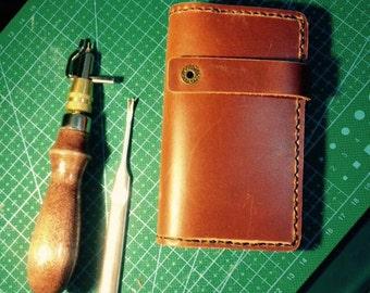Leather key pouch, handmade Leather key holder, key holder, key bag,handgemachtes Leder Schlüsseletui, Schlüsseltasche, Schlüsselhalter