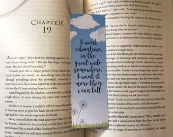 I Want Adventure Bookmark