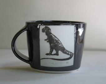 T-Rex/ Bicycle mug