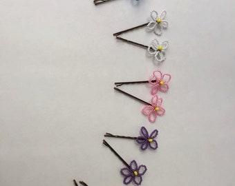 Flower Pins Set