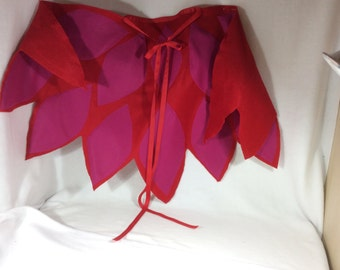 Owlette costume cape and Mask, made to order, Childs Owlette wing cape