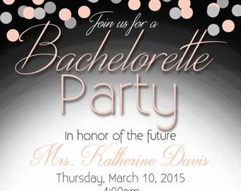 Bachelorette Party Invitation -Digital